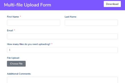 Multi-file Upload Form