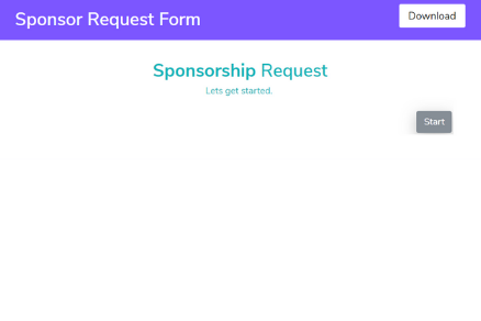 Sponsor Request Form