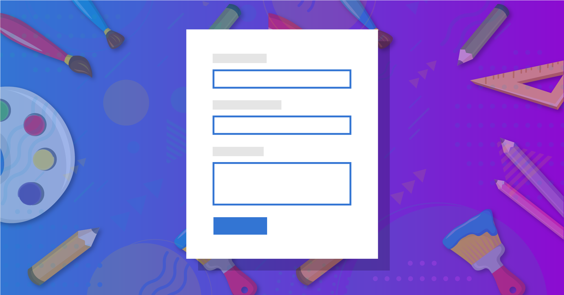 styling contact form