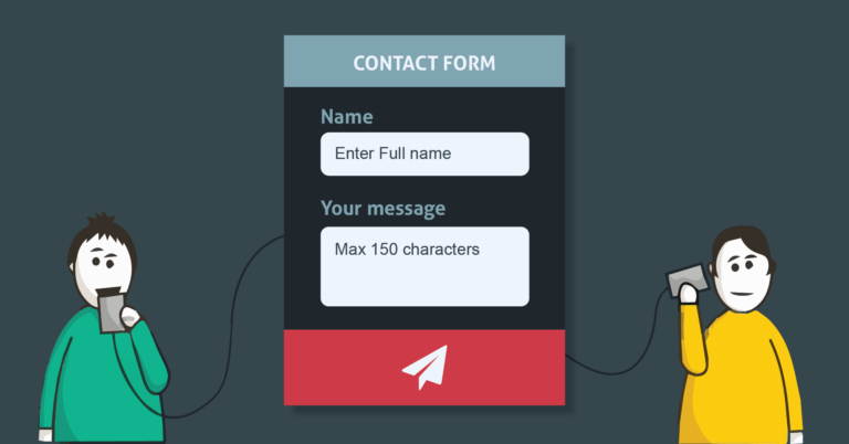 Contact Form and 17 Reasons Why You Need One on Your Website!