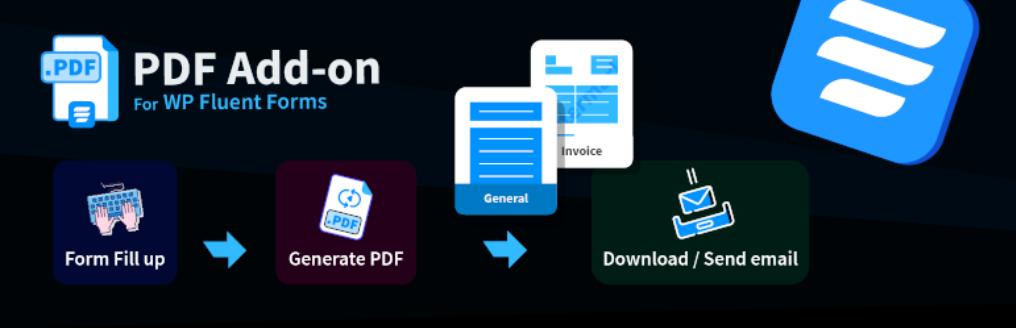 Fluent Forms PDF Add-on