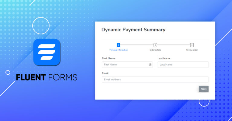 How to Add Dynamic Payment Summary in WordPress