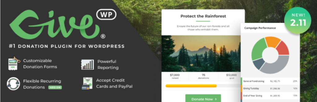 Give WP - WordPress Donation Plugin