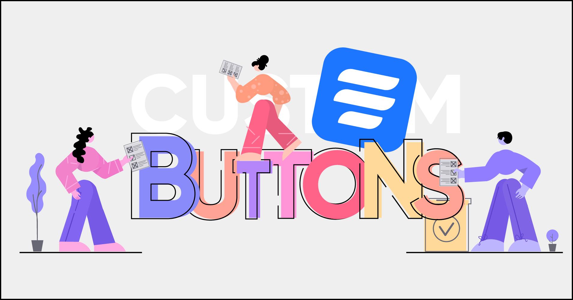 custom submit button