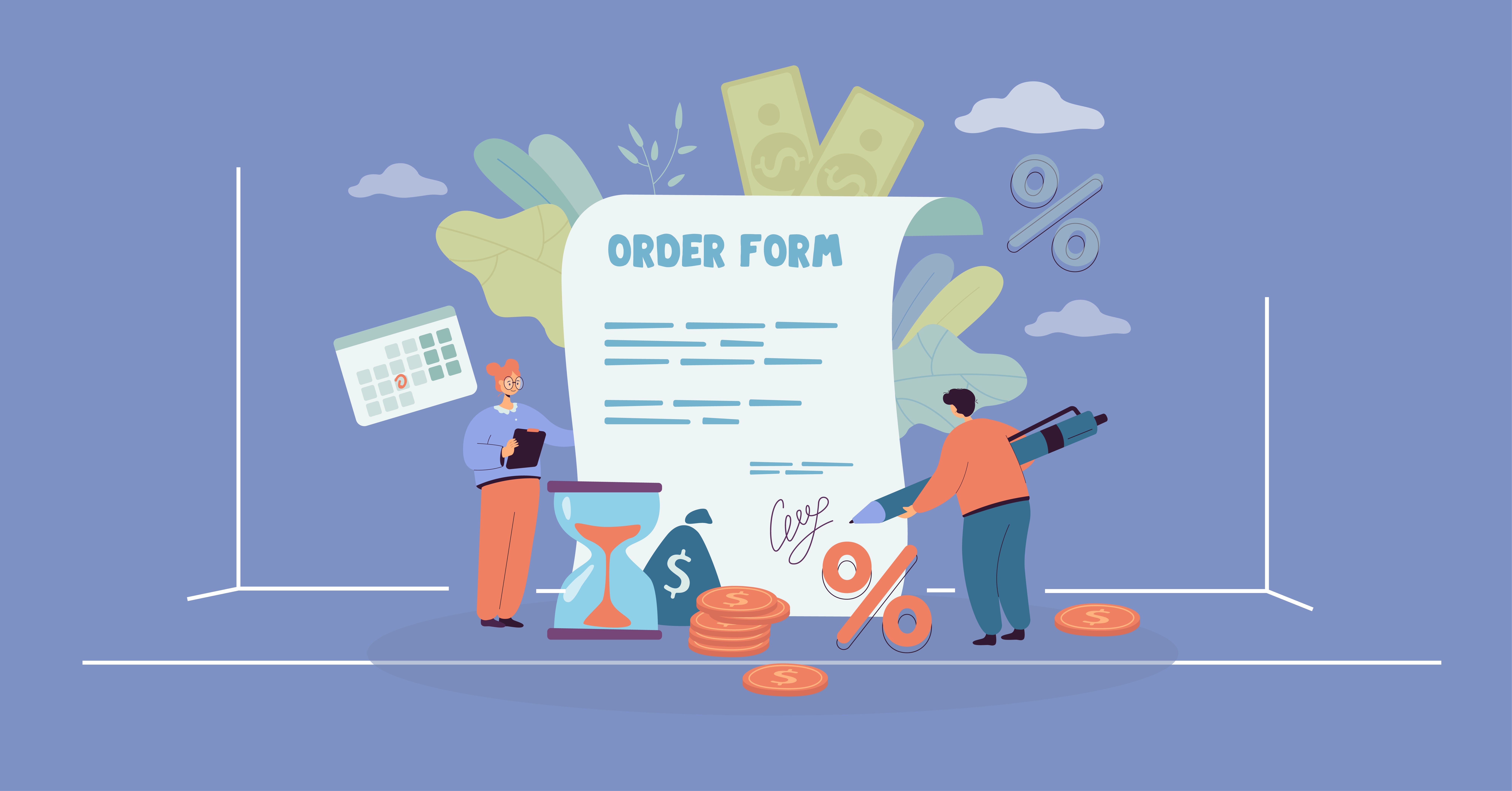 how to create an order form - Fluent Forms