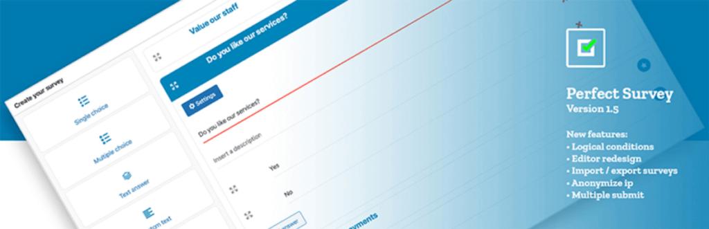 Perfect Survey - best WordPress survey plugin